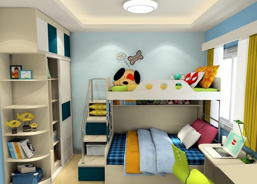 四个阶段,四个原则,这样的儿童房才是孩子的天地