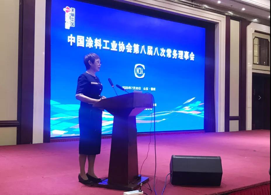 中国涂料工业协会第八届八次常务理事会